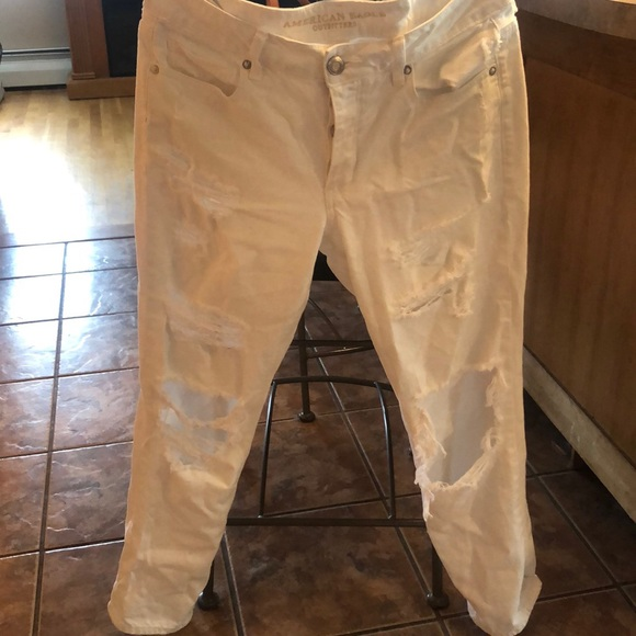 American Eagle Outfitters Denim - American Eagle Boyfriend Ripped Jeans